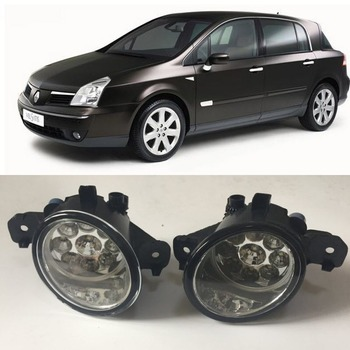 Renault Vel Satis 2001-2009 Için araba Styling 9-Pieces Leds Sis Işıklar H11 H8 12 V 55 W Halojen LED Sis Far