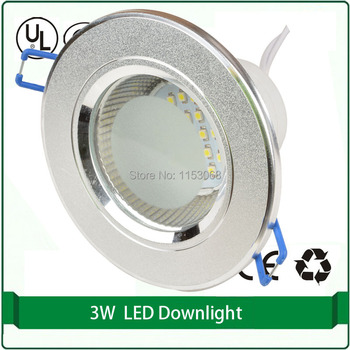 "Mini downlight 2.5 ""100mm led downlight 220 v 24 smd 3528 led tavan aşağı ışık"